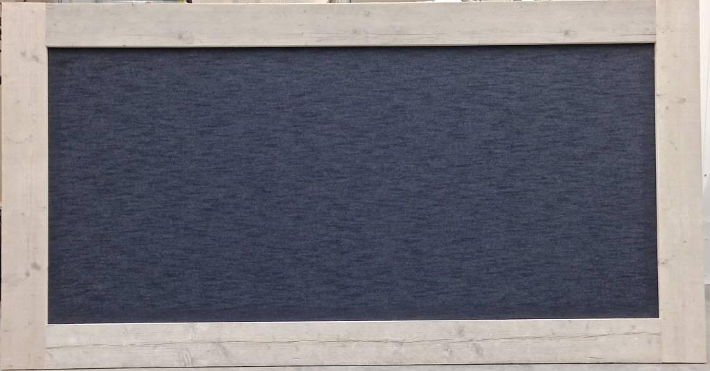 Prikbord steigerhout extra groot (XXXL) 125x240cm, Jeans