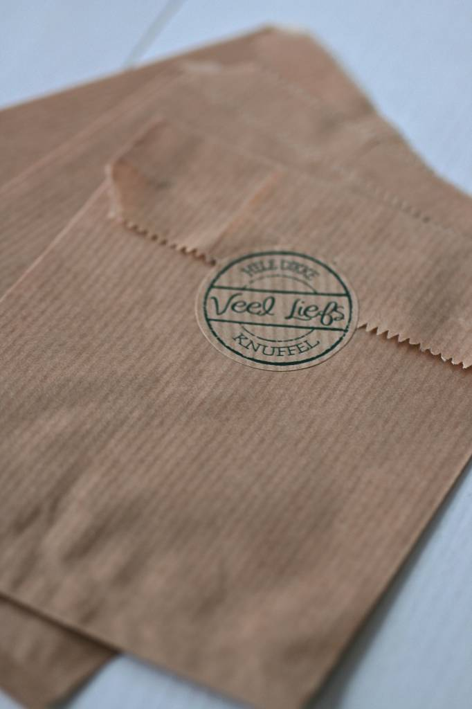 Papieren craft zakjes 13x19cm bruin, 10 stuks