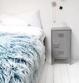 HK Living nachtkastje locker 65x36x33cm, grijs