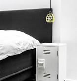 HK Living nachtkastje locker 65x36x33cm, wit