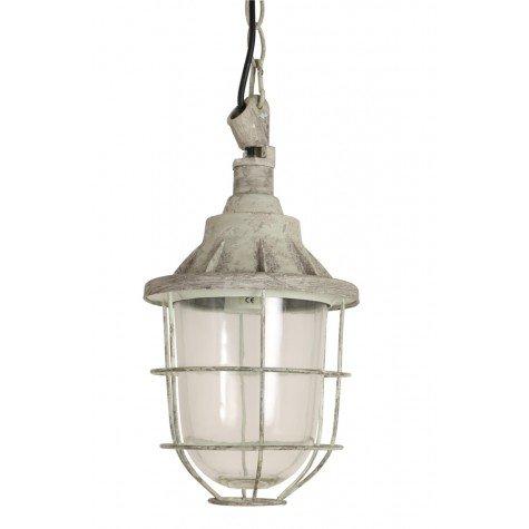 Hanglamp 'Quarry' M, 17x27cm grijs