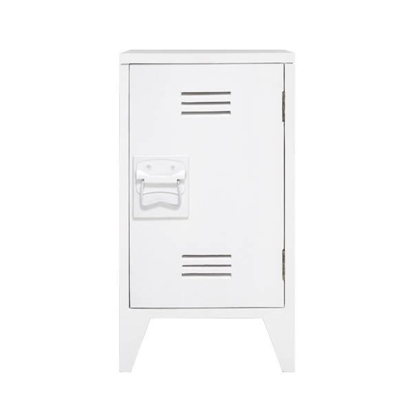 HK Living nachtkastjes locker 65x36x33cm set, wit
