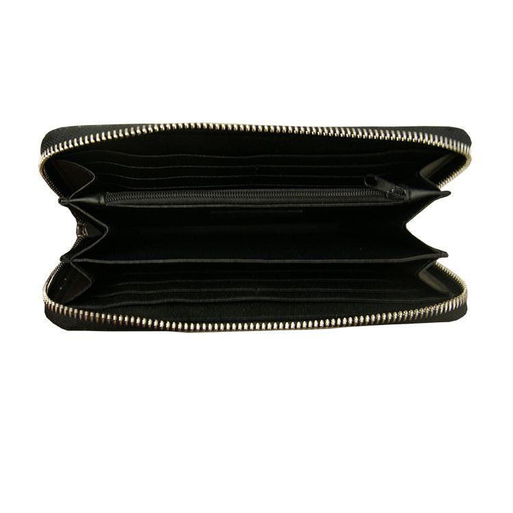 Zusss Portemonnee 20x11x2,5cm, zwart