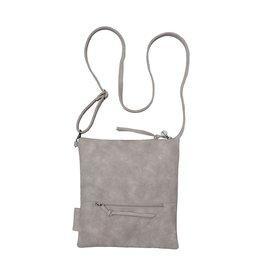 Zusss Eenvoudige tas M, poedergrijs