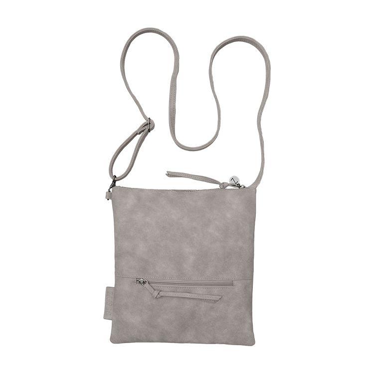 Zusss Eenvoudige tas M 28x30cm, poedergrijs