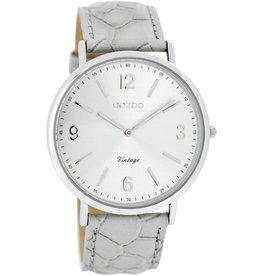 OOZOO horloges Timepieces C7364 Grijs croco