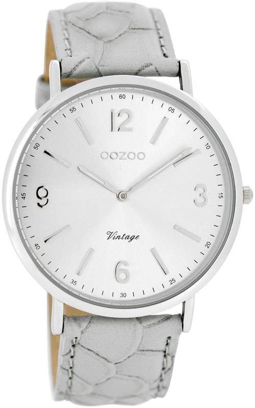 OOZOO horloges Timepieces C7364 grey croco
