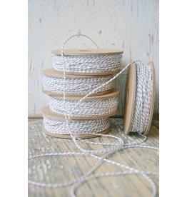 Bakers String / slagerstouw grijs-wit