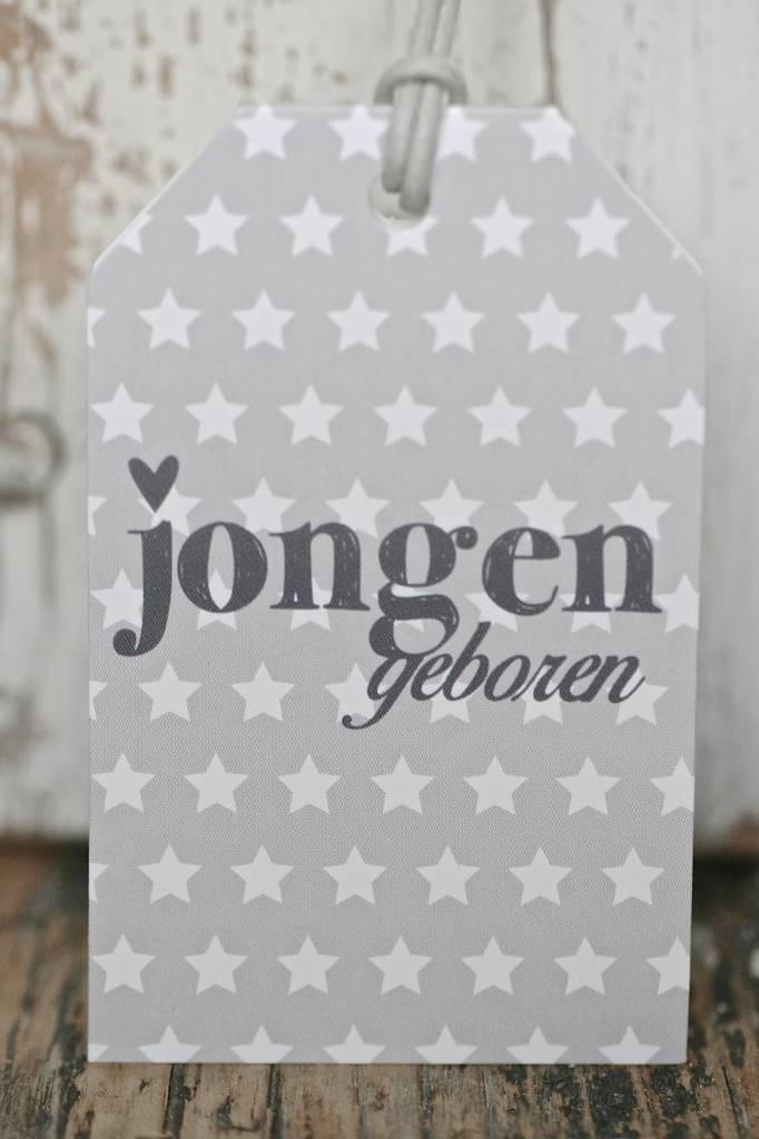 Wenskaart - Jongen geboren -