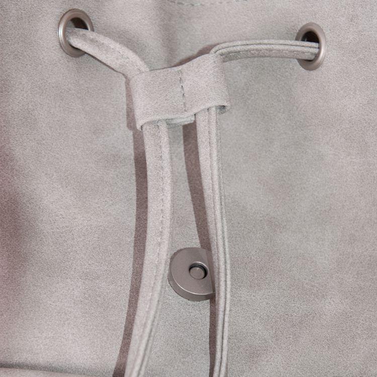 ZUSSSie rugtas 29x25x11cm, poedergrijs
