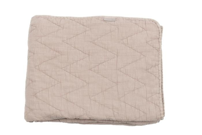 Quilted Throw Patty old pink, 130x170cm
