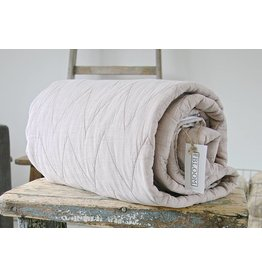 Quilted Throw Patty old pink