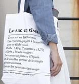 Le sac en Tissu - draagtas
