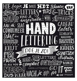Boek Handlettering doe je zo van Karin Luttenberg