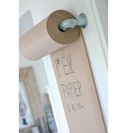 Rol kraft inpakpapier met frame