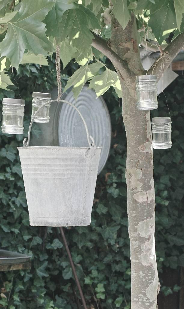 IB Laursen glazen theelichthouder 11 x 7,5cm, glas