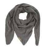 Zusss Sjaal om in te wonen 75x210cm, grijs