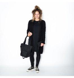 Zusss Luxe schoudertas, zwart