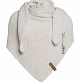 Knit Factory Omslagdoek / sjaal 85x200cm, beige