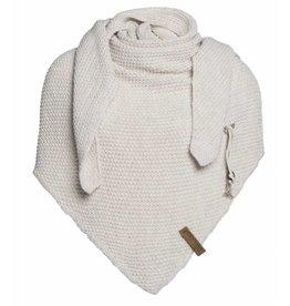 Knit Factory Omslagdoek / sjaal Coco zand
