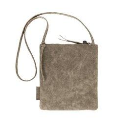 Zusss Eenvoudige tas M, groen-grijs