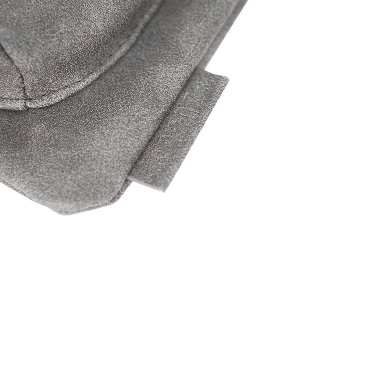 Zusss Eenvoudige tas S 28x30cm, antracietgrijs