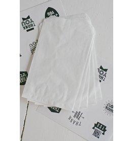 Papieren craft zakjes 10x15cm, 10 stuks