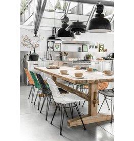 HK Living rustieke houten eetkamertafel XL