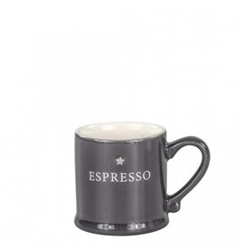 Bastion Collections Espresse Black with Espresso in White