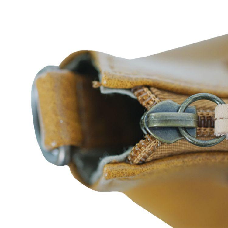 Zusss Luxe schoudertas 34x34x13cm, kerrie