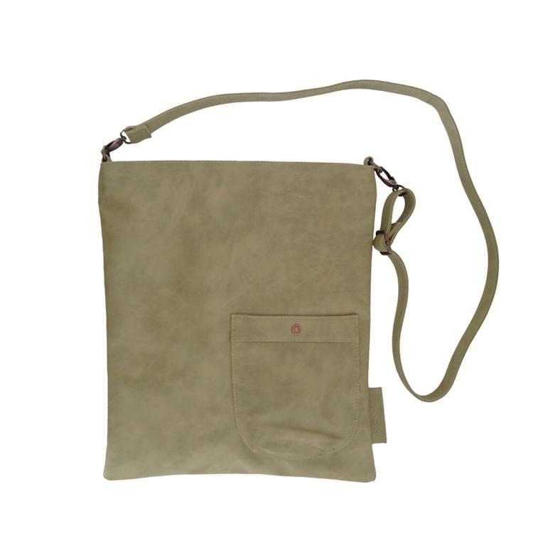 Tassen Van Zusss : Zusss eenvoudige tas l cm olijf label
