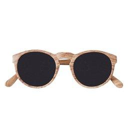 Zusss zonnebril houtprint naturel