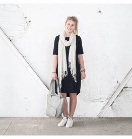 Zusss leuk basic jurkje zwart L/XL