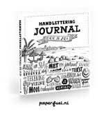 Paperfuel Handlettering journal doe je zo!