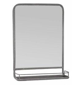 IB Laursen Spiegel met plank, zink