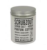 Puur Zeep Scrubzout parfum cotton