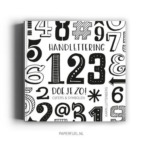 Paperfuel Boek handlettering 123 doe je zo van Karin Luttenberg
