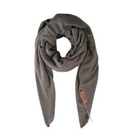 Zusss stoere grote sjaal steengrijs