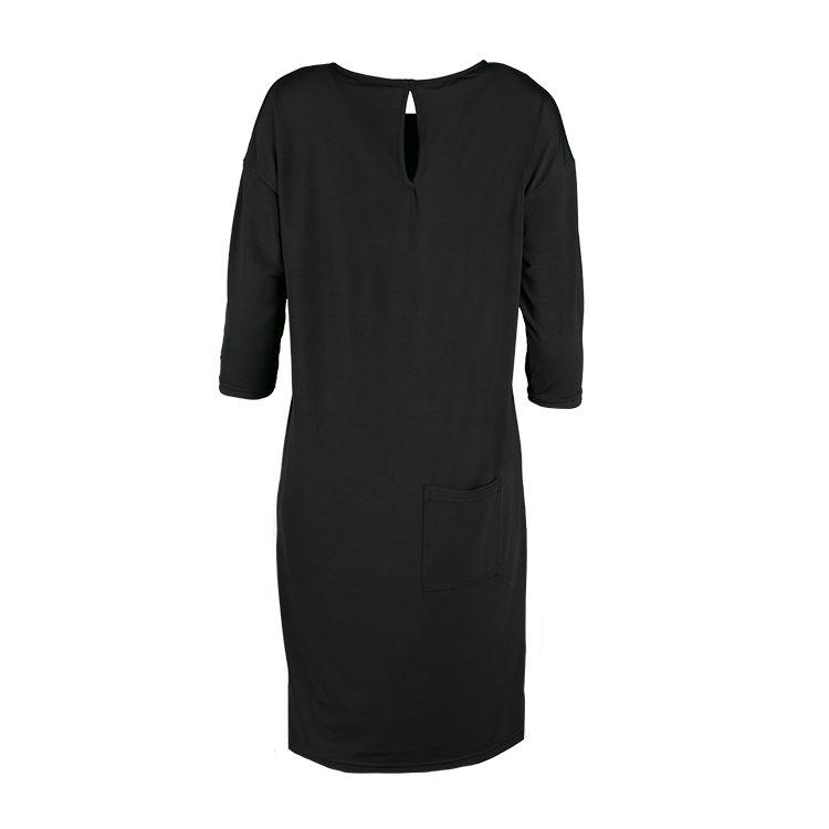 Zusss Eigenwijs jurkje zwart L/XL