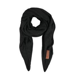 Zusss stoere grote sjaal zwart