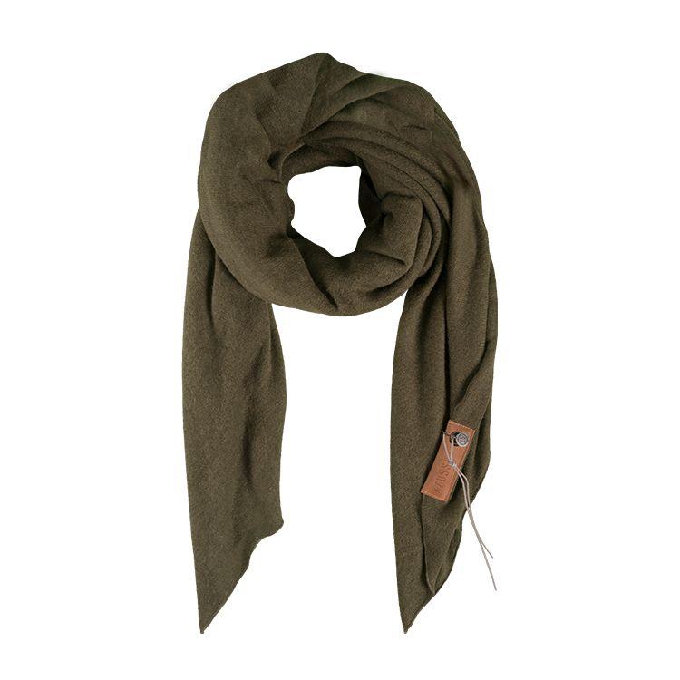 Zusss stoere grote sjaal 180x180cm, groen