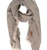 Zusss Gespikkelde sjaal 70x210cm, lever