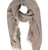 Zusss Gespikkelde sjaal 70x210cm, oker