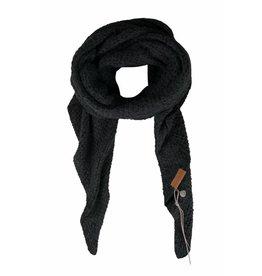 Zusss sjaal met punten off black