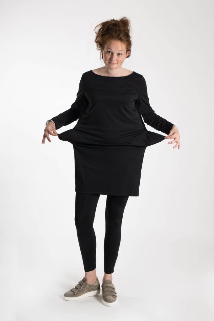 Zusss leuk jurkje zwart M/L
