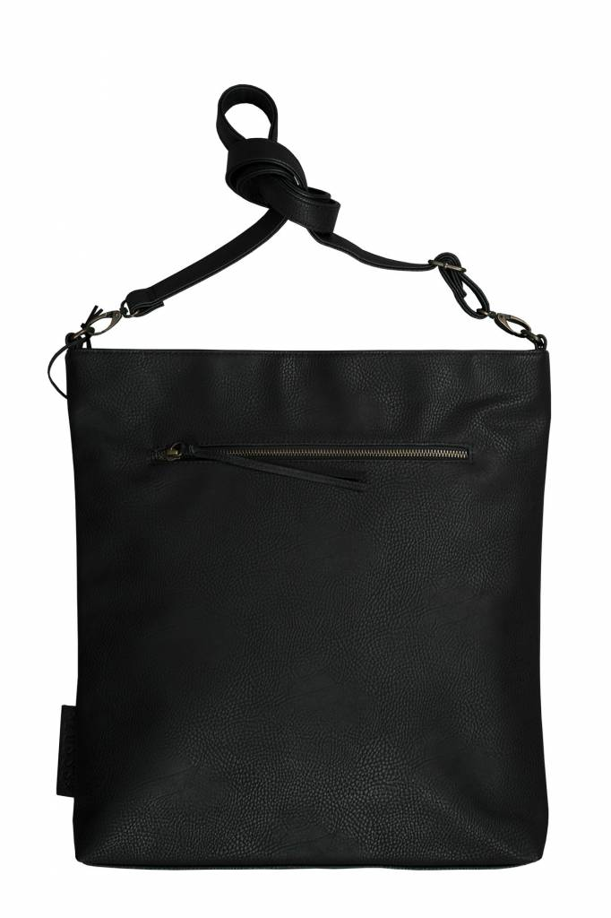 Zusss Leuke tas L 40x35x2cm, zwart