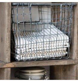 IB Laursen zinken opbergmand 'Basket Wire'