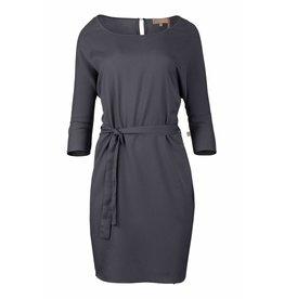 Zusss sjiek jurkje met centuur nachtblauw S/M
