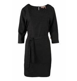 Zusss sjiek jurkje met centuur zwart S/M