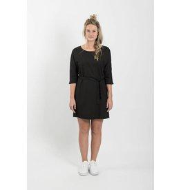 Zusss sjiek jurkje met centuur zwart M/L